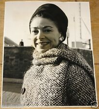 MARGOT FONTEYN VINTAGE ORIGINAL PRESS PHOTOGRAPH BALLET 22 OCTOBER 1963