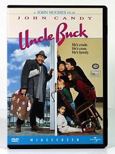 UNCLE BUCK  (DVD, 1998, Widescreen) John Candy Hughes Amy Madigan COMEDY