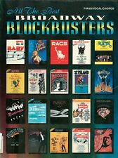 ALL THE BEST BROADWAY BLOCKBUSTERS - PIANO/VOCAL/CHORDS SHEET MUSIC SONGBOOK