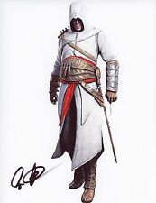 "CAS ANVAR Authentic Hand-Signed ""Assassin's Creed: Revelations"" 8.5x11 photo"
