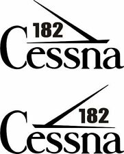 Cessna 182 Aircraft Emblem Decal/Sticker!