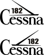 Cessna 182 Aircraft Emblem Decal/Sticker!