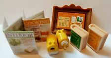 SYLVANIAN FAMILIES SPARES * MAGAZINES AND SCHOOL BUNDLE * COMBINED P+P NEW