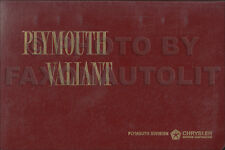 1964 Plymouth Color and Upholstery Dealer Album Fury Belvedere Satellite Valiant