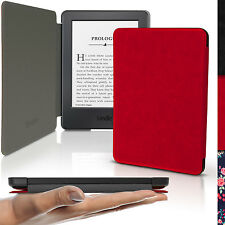 """Rot Schlank PU Leder Tasche Hülle für Amazon Kindle 6"""" 2016 8.Gen Etui Case"""