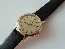 LADIES VINTAGE .375 9CT GOLD MANUAL WINDING Cal.630 OMEGA WRIST WATCH