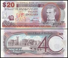 Barbados 20 Dollars 2012 UNC**New - Commemorative (low #s)