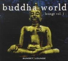 Buddha World Lounge Vol. 1 - CD - CHILL OUT LOUNGE DOWNTEMPO AMBIENT