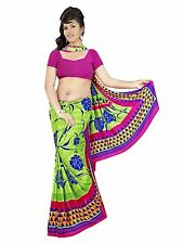 Bollywood Women's Indian Ethnic Designer Georgette Party Wear Saree(10502)