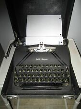 Antique 1940's Smith Corona Model Sterling Vintage Typewriter Good Condition