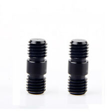 2 PCS Rod Connector-M12 with 12mm-20 thread for 15mm Rods Support Rail
