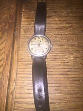 VINTAGE TIMEX AUTOMATIC SELF WIND WATERPROOF WATCH LEATHER BAND