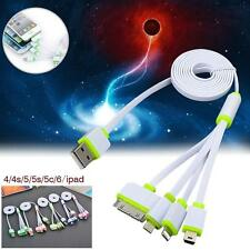 4 in 1 Multi Usb Charger Adapter Charging Cable Connectors 30P 8P mini &Micro WA