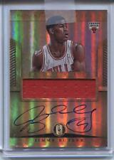 Jimmy Butler 2012-13 Panini Gold Standard Jersey Auto Autograph Rookie Card RC
