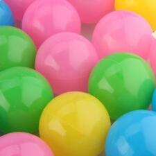 50 Palline Palle Colorate in Plastica 5,5cm Elastico Gioco Bambini