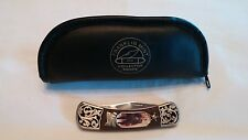 Franklin Mint Wyatt Earp Collector Knife with Case legends Of The Wild West