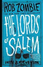 The Lords of Salem by Rob Zombie (2013, Paperback) NEW