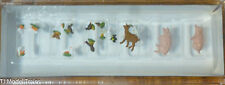 Preiser N #79093 Animals -- Set of Small Animals (160th Scale)