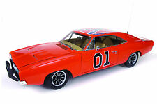"""1969 Dodge Charger General Lee """"Dukes of Hazzard"""" 1:18 Scale"""