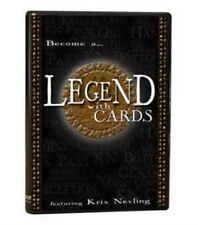LEGEND WITH CARDS DVD BY KRIS NEVLING CONTROLS SHUFFLES PASSES MAGIC TRICKS