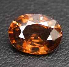 1.80 ct Natural Oval-cut Imperial Orange VVS Zircon (Cambodia)