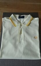 FRED PERRY MENS POLO SHIRT TOP SIZE L GENUINE GOOD CONDITION