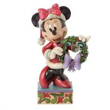 Disney Traditions Seasons Greetings Mrs Clause Minnie Mouse Figurine 4039034