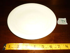"Fiesta Ware Pale Yellow? Salad Plate 7.25"" Homer Laughlin USA, Vintage Pre 1973"