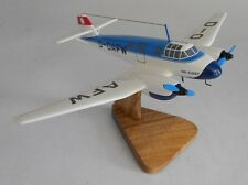Ago Ao 192 Kurier Light Transport/Utility Aircraft Wood Model Free Shipping