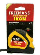 3 Metre (16 mm) Freemans Measuring Steel Tape With Auto Locking-3 Meter