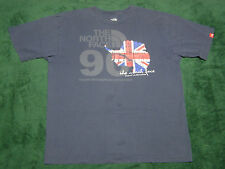 North Face 1990 Trans-Antarctica Expedition British T-Shirt Charcoal Gray size M