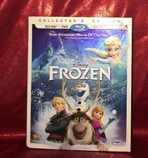 NEW Disney Frozen Collector's Edition Blu-Ray, DVD and Digital HD Copy 2014