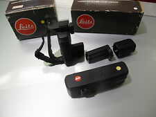 WONDERFUL LEICA MOTOR KIT FOR R4 ART 14282 COMPLETE WITH ART. 14283 WITH BOXES