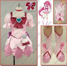 Heart Catch PreCure! Cure Blossom Anime Cosplay Costume