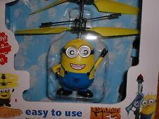 MINI Elicottero Minion giocattolo me3 Flying Blue CATTIVISSIMO PER BAMBINI RAGAZZI FILM REGALO U