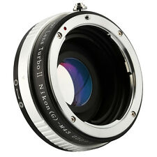 Zhongyi Turbo II Focal Reducer Booster Lens Adapter for AIG to M43 M4/3 Olympus