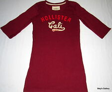 Hollister  Abercrombie & Fitch T-shirt Tee Top Blouse T shirt LS NWT A & F   S