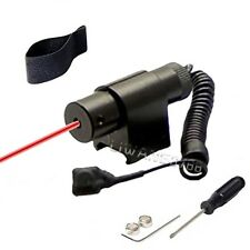 New Red dot laser sight scope fit any 20mm weaver rail mount airsoft bb gun