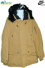 Nike SPORTSWEAR NSW Mens 550 Goose Down Parka Jacket Ochre Medium