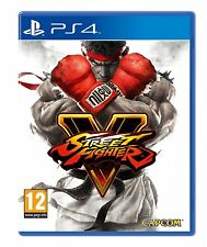 Street Fighter 5 (Sony PS4) - SteelBook Limited Edition  -  New