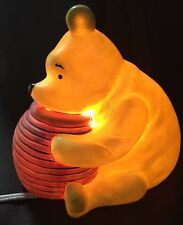 Vintage Disney Classic Winnie The Pooh Night Light/Lamp By Charpente