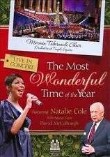 MORMON TABERNACLE CHOIR CHRISTMAS CONCERT DVD NATALIE COLE MOST WONDERFUL TIME