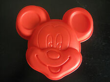 MICKEY MOUSE  SILICONE BIRTHDAY MINI CAKE PAN CHOCOLATE CANDY MOLD PARTY FAVOR