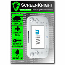 ScreenKnight Nintendo Wii U SCREEN PROTECTOR Military Grade invisible shield