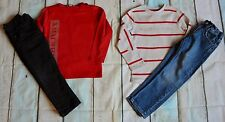 Boys Designer Clothes Bundle Burberry Tops High St Jeans 3-4 Year Good Condition