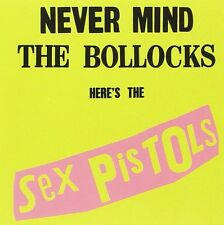 SEX PISTOLS NEVER MIND THE BOLLOCKS HERES THE SEX PISTOLS CD