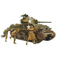 TAMIYA 35250 M4A3 SHERMAN TANK W / 75mm GUN & 3 FIGURE MILITARI 1:35 KIT MODELLO
