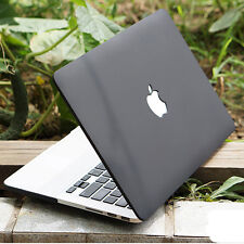 "Black Matt Rubberized Hard Case Cover Skin For MacBook PRO 15""/15.4 A1398 Retina"