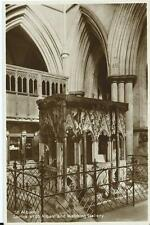 Sepia Postcard of Shrine of St Alban & Watching Gallery St Albans