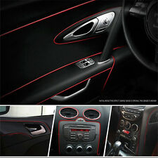 5 Meters Auto Car Styling Moulding Decorative Red Filler Strip Interior Exterior